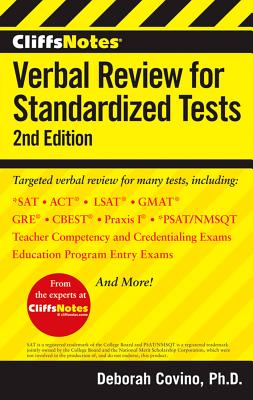 CliffsNotes Verbal Review for Standardized Tests By Covino, Deborah